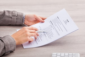 Catching resume lies through background checks