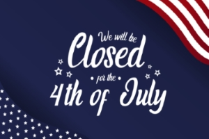 OPENonline Will Be Closed in Observance of the July 4th Holiday