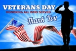 Thank You Veterans!!