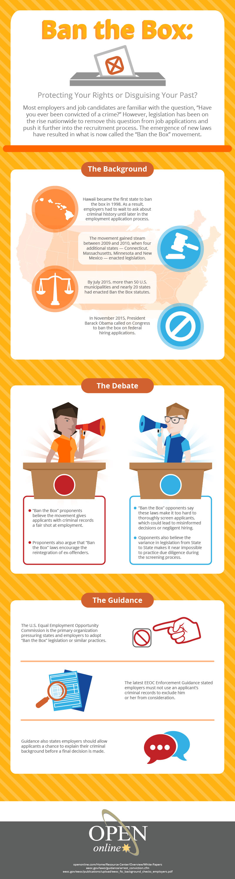 New Infographic - Ban the Box: Protecting Your Rights or